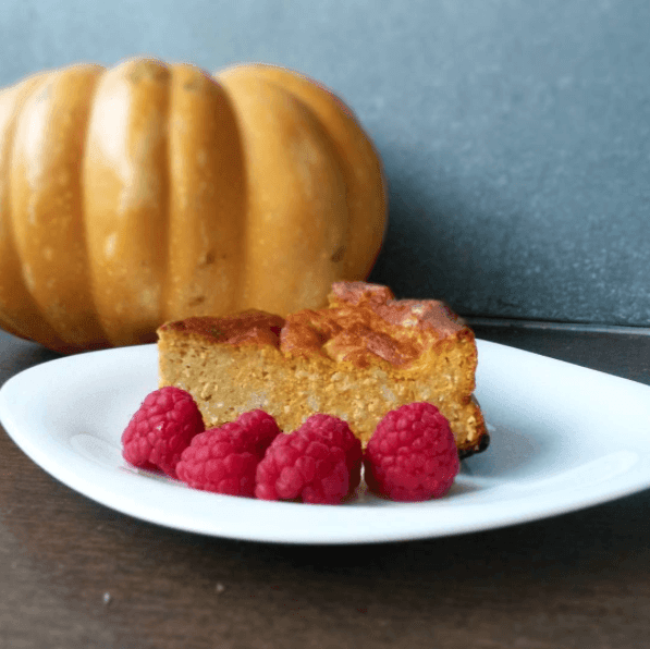 Pumpkin Cake for breakfast