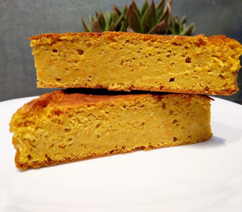 Tarta de zanahoria, quinoa y coco sin gluten