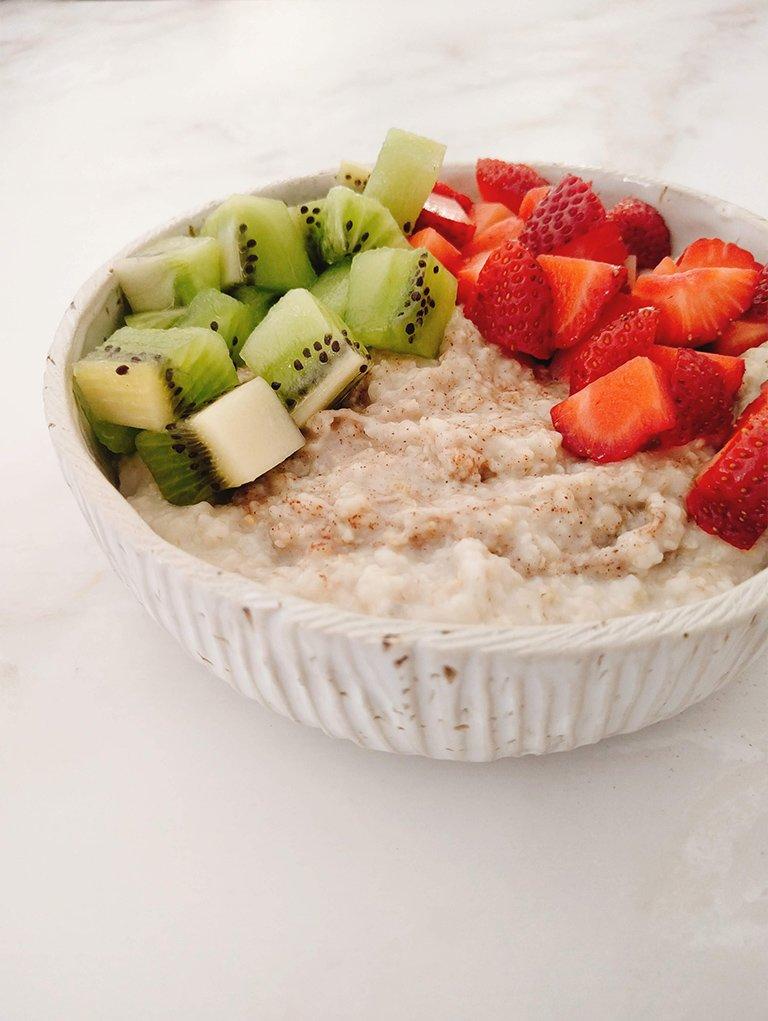 Old Fashioned Porridge A Perfect Breakfast