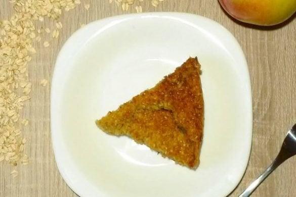 Tarta para el desayuno: con manzana, zanahoria y avena