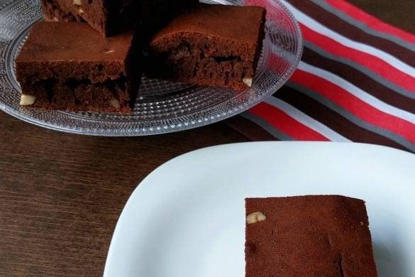 Brownies clásicos sin gluten