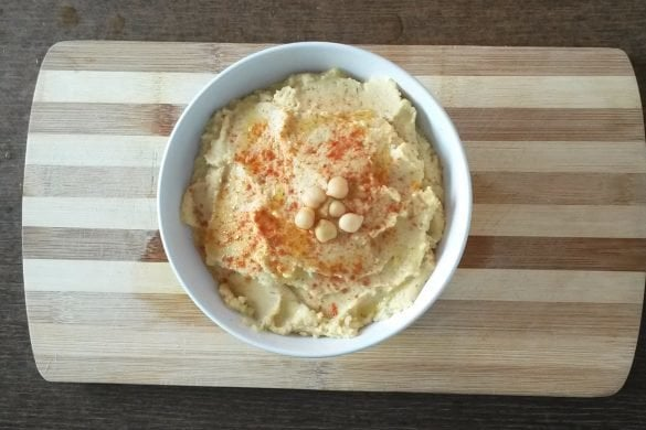 Hummus en 5 minutos