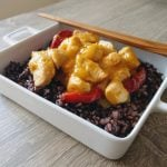 Chicken thai with mango