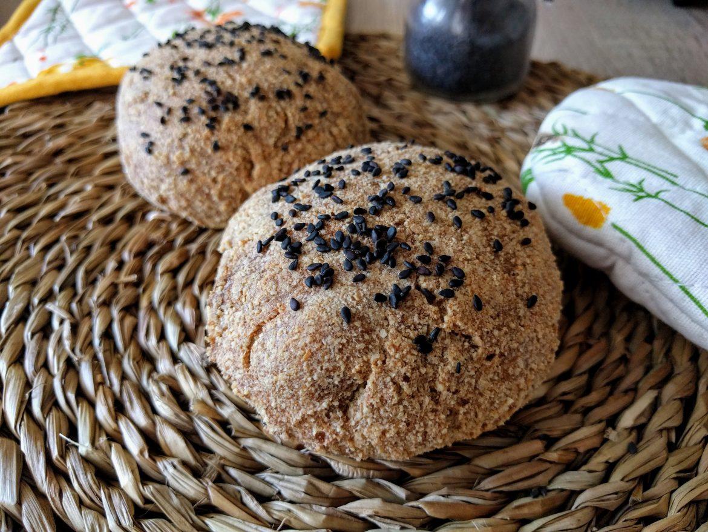 La merienda de hoy: Panecillos sin harina, sin gluten, veganos o no