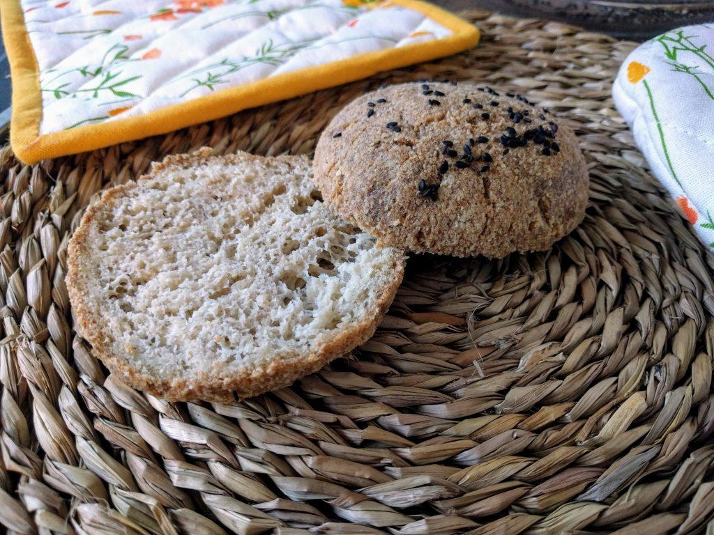 Panecillos sin harina, sin gluten, veganos o no