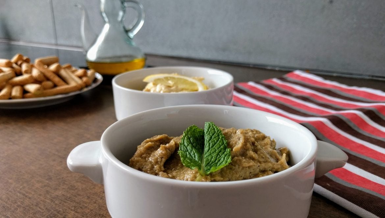 A light and fresh snack: Baba Ganoush