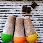 Polos de coco y chocolate