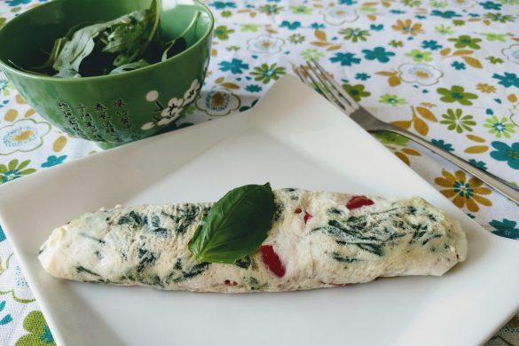 Omelette de verduras perfecta