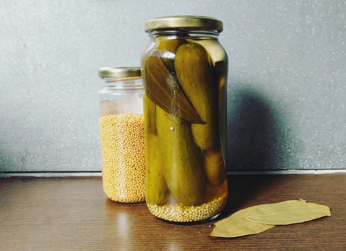 How to make vinegar pickles