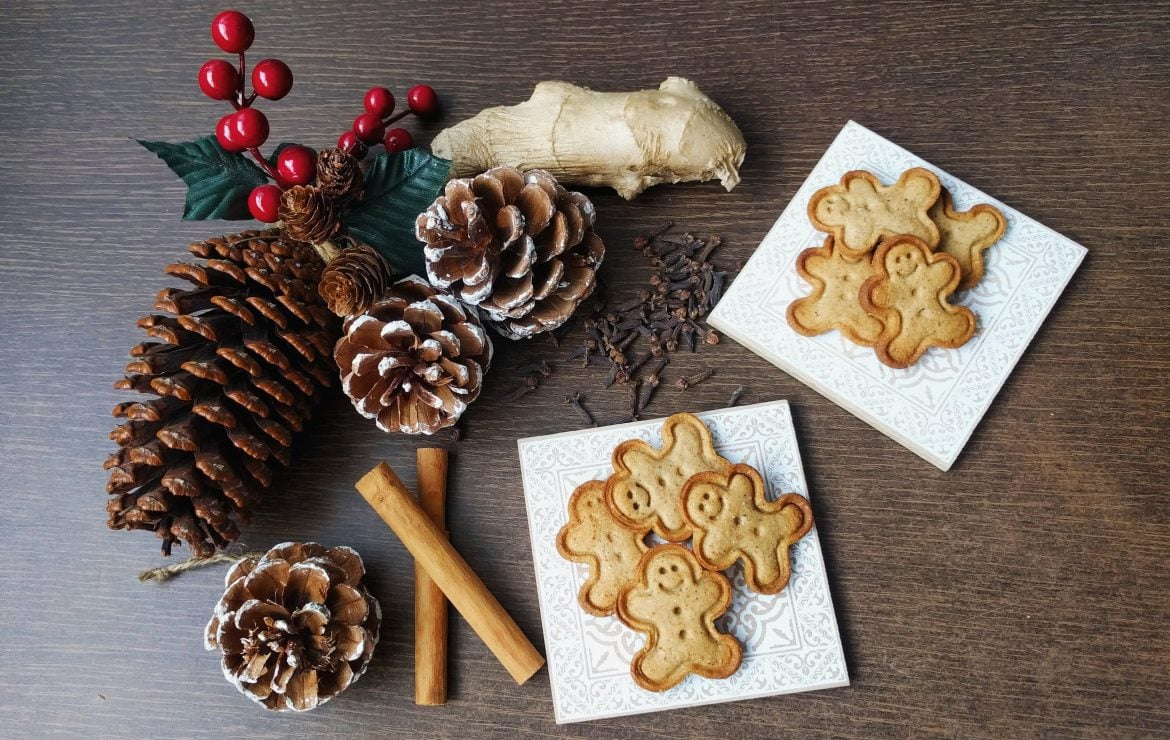 Christmas is coming: Vegan Gingerbread