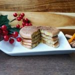Gluten free Pancakes with Ginger and Orange