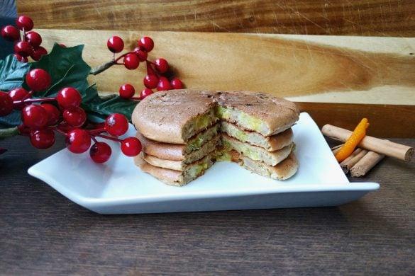 Tortitas sin gluten de jengibre y naranja
