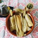 Tamales veganos