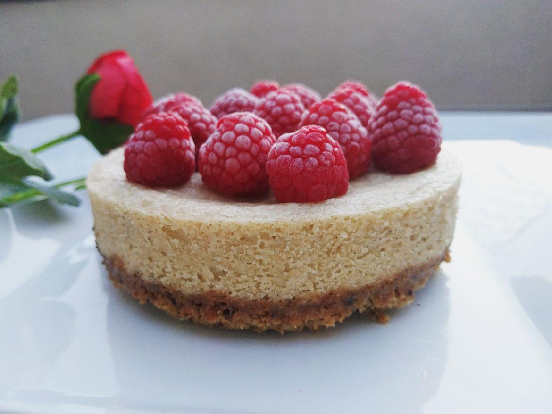 NY Cheesecake vegano y sin gluten