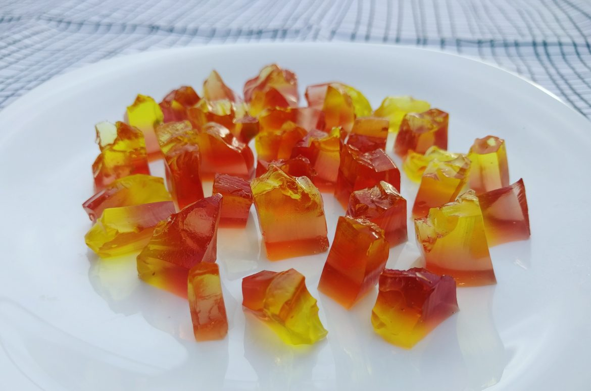 Jelly gems for Women's day