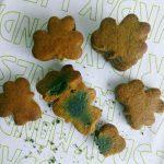 Galletas verdes de San Patricio