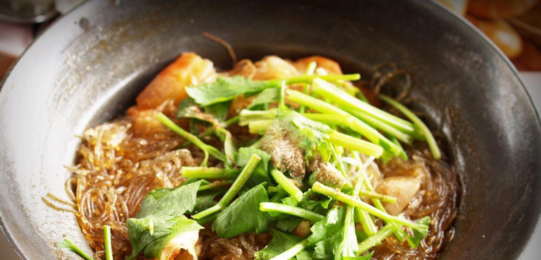 Noodles with veggies and Tamari sauce