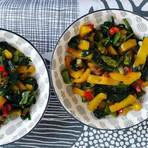 Bol Primavera de verduras