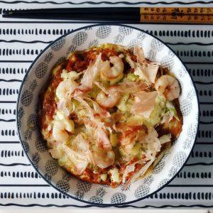 Okonomiyaki de gambas