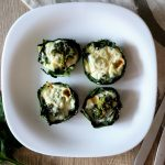 Spinach and broccoli muffins