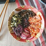 Chirashi sushi bol