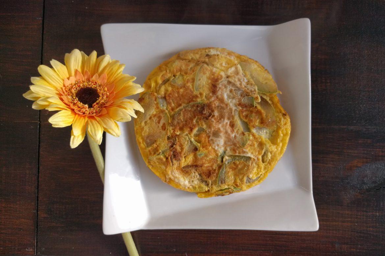 """Zucchini """"tortilla"""" (omelette)"""