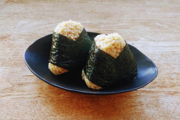 Onigiri de arroz integral