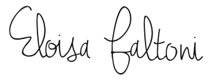 Firma de Eloisa Faltoni