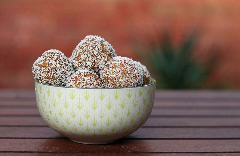 Pumpkin & Coconut balls