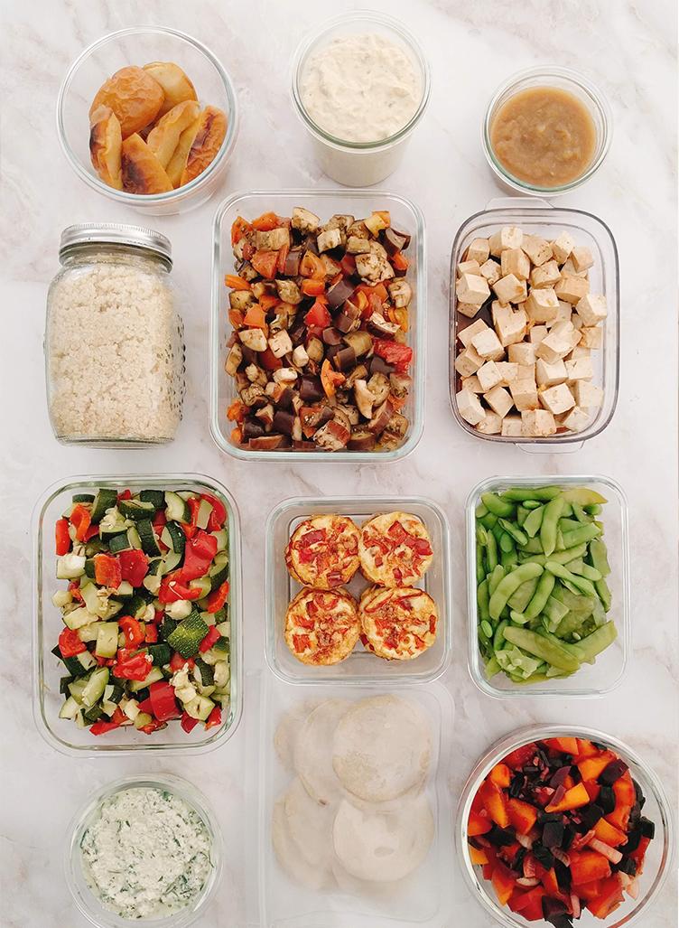Batch cooking para DMA [vegetariano]